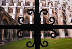 Westminster Abbey, in the City of Westminster, London, stock image