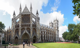 Westminster Abbey, formally titled the Collegiate Church of St Peter at Westminster Royalty Free Stock Photo