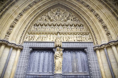 Westminster Abbey gate royalty free stock photos