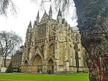 Westminster Abbey i London royaltyfria foton