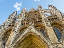 Westminster Abbey i London Royaltyfri Bild