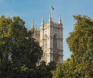Westminster Abbey i London Arkivfoto