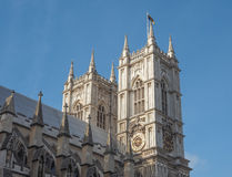 Westminster Abbey i London Arkivfoton
