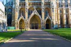 Westminster Abbey i London, UK Royaltyfri Fotografi