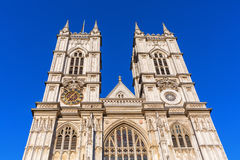 Westminster Abbey i London, UK Royaltyfri Fotografi