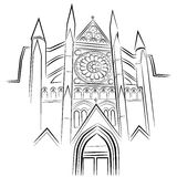 Westminster Abbey. An image of Westminster Abbey Stock Photos