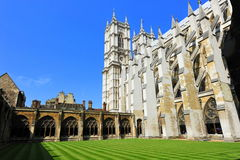 Westminster Abbey interior courtyard Stock Photography