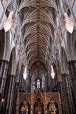 Westminster Abbey interior gothic details Stock Photo