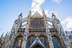 Westminster Abbey. Located in City of Westminster London, UK Stock Photos