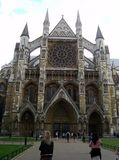 Westminster Abbey London lizenzfreies stockbild