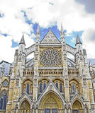 Westminster Abbey, London. Facade of the Westminster Abbey, London Stock Photography