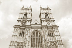 Westminster Abbey, London Arkivfoto