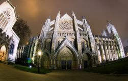 Westminster Abbey in London Royalty Free Stock Photos