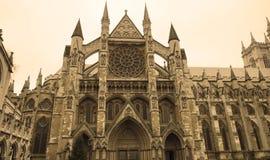 Westminster Abbey in London Lizenzfreie Stockfotos