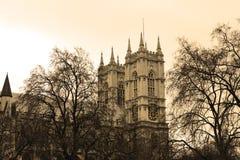 Westminster Abbey in London Stockbild
