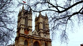 Westminster Abbey, London stock video