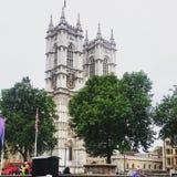 Westminster Abbey in London Lizenzfreies Stockfoto
