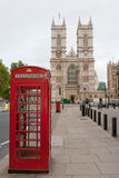 Westminster Abbey. London, England Lizenzfreies Stockfoto