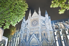 Westminster Abbey at London, England Stock Photo