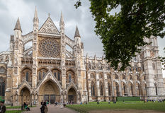 Westminster Abbey London England Royaltyfri Bild