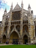 Westminster Abbey in London. England Stock Images