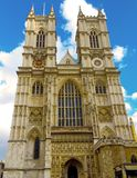 Westminster Abbey London England Arkivfoto