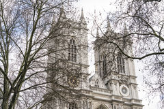 Westminster Abbey London England Royalty-vrije Stock Afbeelding