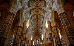 Westminster. Abbey in London, England Stock Photos
