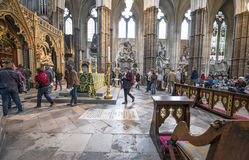 In the Westminster. Abbey. London, England Stock Photography