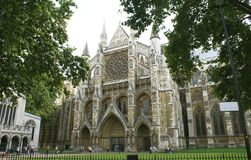 Westminster Abbey, London, England Stock Photography