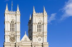 Westminster Abbey, London, England, UK - London landmark. Westminster Abbey, London England UK - London landmark Royalty Free Stock Images