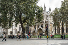 Westminster Abbey in London, England Royalty Free Stock Images