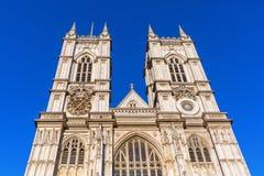 Westminster Abbey in London, Großbritannien lizenzfreie stockfotografie