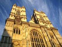 Westminster Abbey, London, UK stock photography