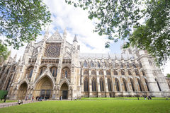 Westminster abbey, London, UK Arkivbild