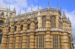 The Westminster Abbey. London UK Stock Images