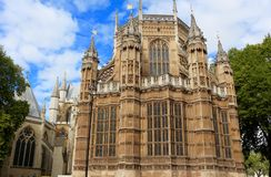 Westminster Abbey,  London, UK Royalty Free Stock Photography