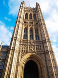 The Westminster Abbey in London, United Kingdom. Westminster Abbey is a Gothic monastery church in London that is the traditional place of coronation, weddings Stock Photography