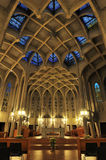 Westminster Abbey in Mission, British Columbia stock images
