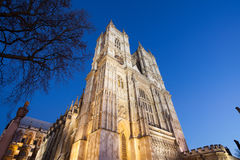 Westminster Abbey at night, London Stock Images