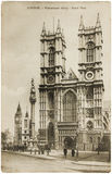 Westminster Abbey Postcard Stock Images