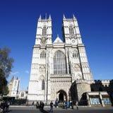 Westminster Abbey schließen Westtür und Türme mit ein Lizenzfreie Stockbilder