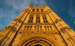 Westminster abbey tower Royalty Free Stock Photos