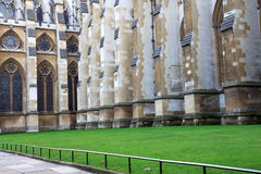 Westminster abbey yard, London, Stock Photo