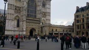 Westminster- Abbeytürme stock video