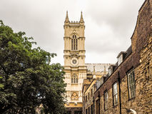 Westminster abbotskloster i London (hdr) Royaltyfri Fotografi