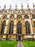 Westminster abbotskloster i London (hdr) Fotografering för Bildbyråer