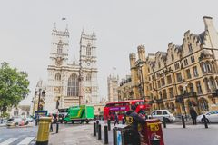 Westminster abbotskloster i London stadsmitt Royaltyfri Bild