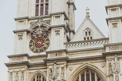Westminster abbotskloster i London stadsmitt Arkivbild