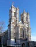 Westminster abbotskloster på dagen, London Royaltyfria Foton